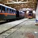 Kismarosi tárolócsarnok az Mk48 2031-es mozdonnyal (2012 március