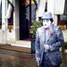 Charlie Chaplin Velencei karnevál . Régi Kép! Free