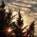 A Nap és a felhők
