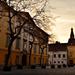 Soproni Fő tér felé