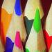 Színes ceruzahegyek