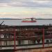 Kilátás / Fertő tó Csónakházak Tűz után