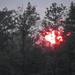 Őszi hajnal Napfelkelte