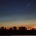 NEOWISE-üstökös és a Starlink műholdak