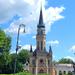 Cegléd, Evangélikus templom és a Kossuth-szobor
