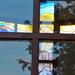 Lakitelek-Népfőiskola, Kápolna üvegablaka