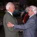 Sütő András és Mádl köztarsasagi elnök talakozik