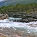 Sziklás folyópart