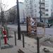 Móricz Zsigmond szobra becsomagolva