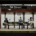 """Diákverseny győztese: """"Metróra várva"""", New York City -Tom Pepper"""