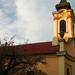aranyló templomtorony