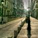Adventi utcarészlet