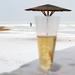 Ital esernyővel (téli verzió)
