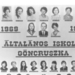 Általános Iskola Göncruszka 1977.