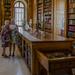 Könyvtárban