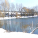 Ibolya tó friss havazás után