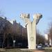 Az örmény és magyar nép barátságát szimbolizáló szobor