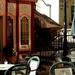 Zwinger kávéház terasza