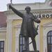 Kossuth zászlóval