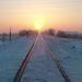 Téli napkelte