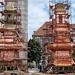 Miskolc, templonytornyok