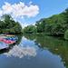 Miskolctapolca, csónakázó tó