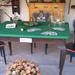 Kártya asztal a szegedi Kass Szálló -ból