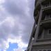 Víztorony a felhőkkel...