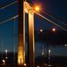 Szelet a rakpartból és az Erzsébet-hídról