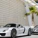 Porsche 918 Spyder - Mercedes SLR McLaren Roadster