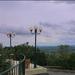 Teraszról Pécs