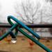 Játszótéri kerítés cseppel