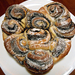 Összenőtt kakaós csigák