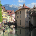 Thiou folyó, Annecy