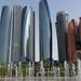 Felhőkarcolók Abu Dhabiban