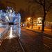 Karácsonyi fényvillamos