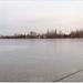 Panorámakép a ráckevei Dunapartról