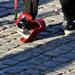 Piros Sony, az utcaseprő