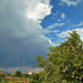 Front felhőzet Újbudán