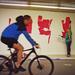 Festik a kelenföldi biciklis aluljárót