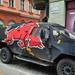 Red Bull party-autó