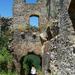 Somoskői vár, főbejárat a belső várba