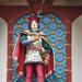 Zenélő óra szobrocskái