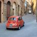 Fiat 500 Volterrában