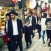A Kotel felé tartó zsidók